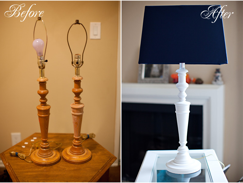 Home Decor: Goodwill Lamp Makeover