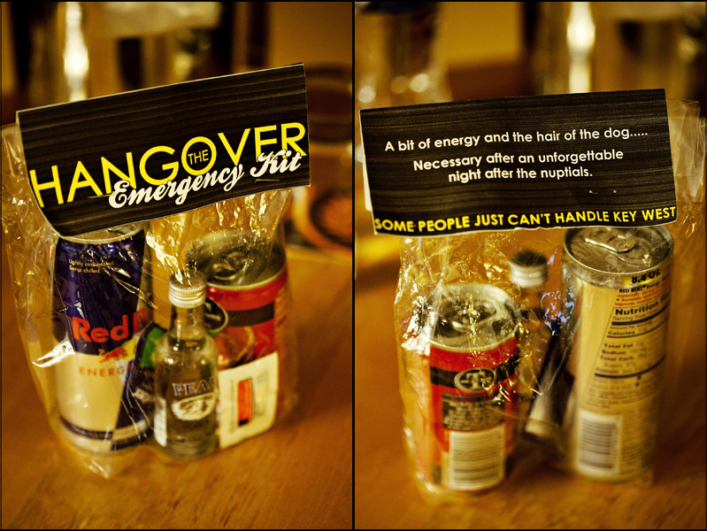 Holiday Party Favors Hangover Kits Great Ideas Melodrama