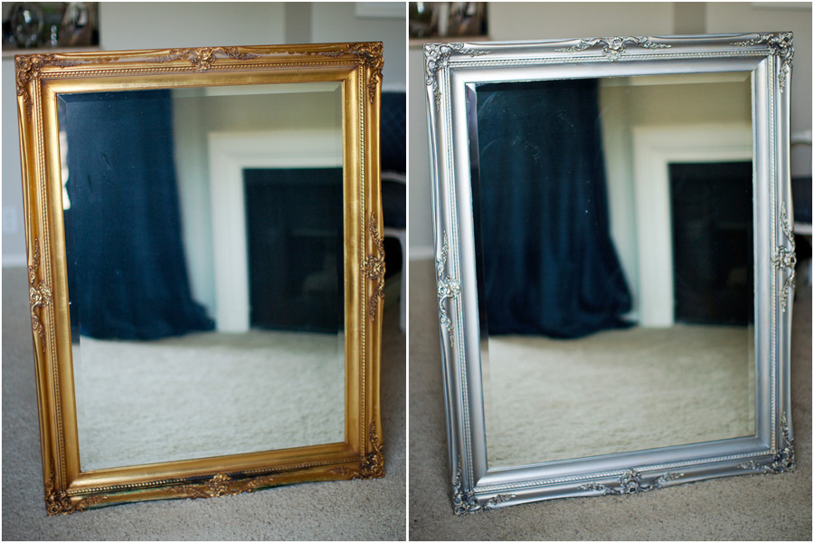 DIY: Mirror Makeover Faux Finishing with Metallic Paints – Melodrama