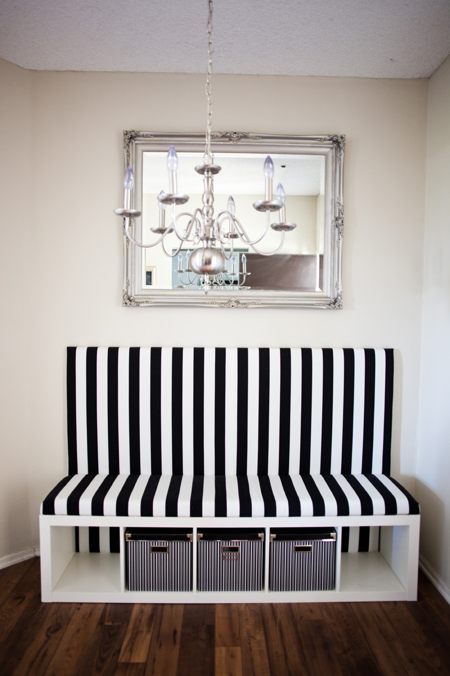 Dining room banquette bench
