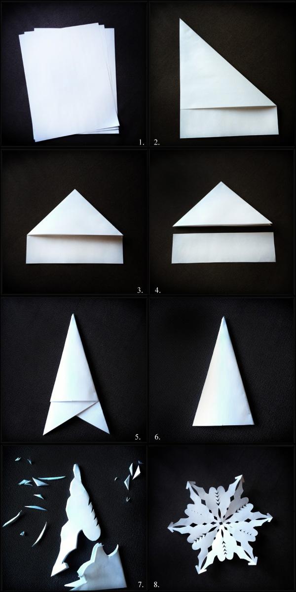 DIY: Paper Snowflake Tutorial - Melodrama