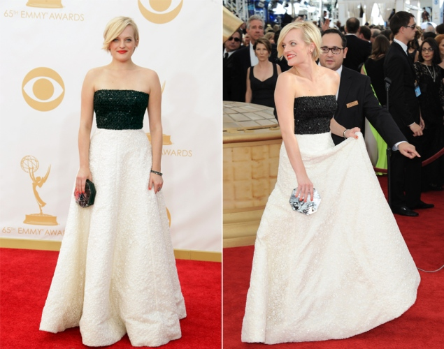 Elizabeth Moss 2013 Emmy Awards