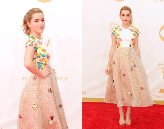 Kiernan Shipka 2013 Emmy Awards