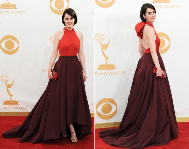 Michelle Dockery 2013 Emmy Awards