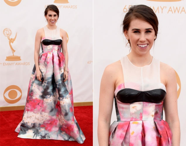 Zosia Mamet 2013 Emmy Awards