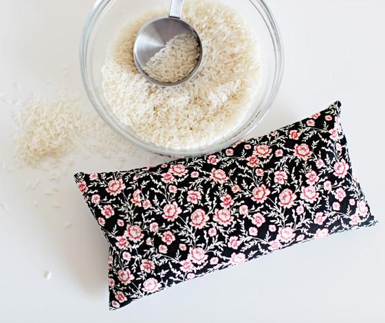 DIY Rice Heating Pad