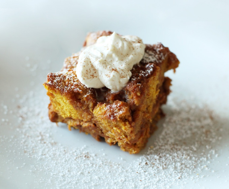 Pumpkin Bread Pudding-4