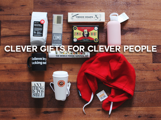 clever gifts for clever people