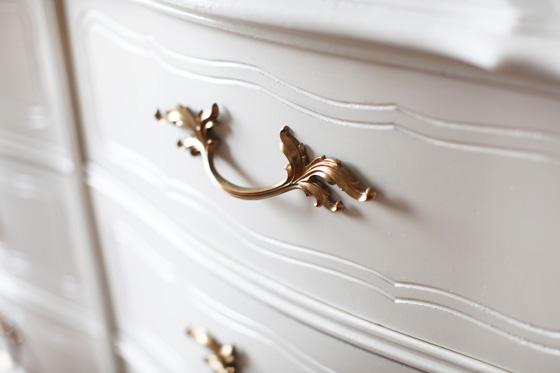 Repainting a dresser