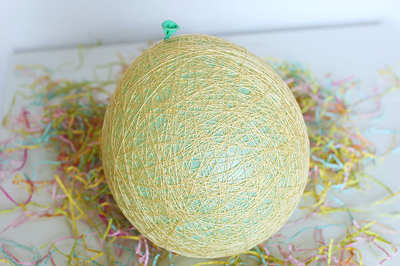 Sugar String Egg Tutorial