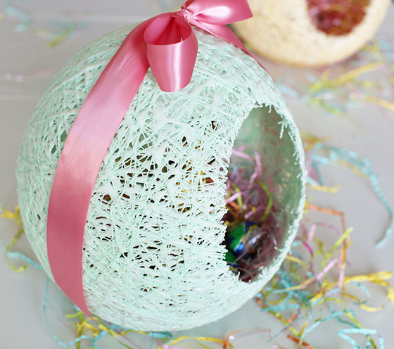 Sugar String Easter Basket Tutorial