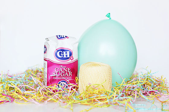 Sugar Easter Egg Basket Tutorial