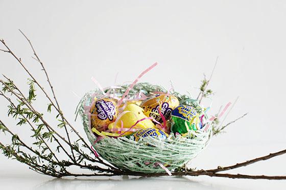 Sugar String Easter Nest Tutorial