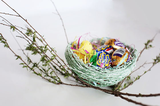 Sugar String Easter Nest Tutorial