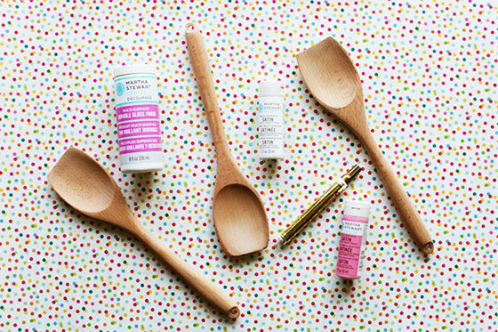 HandPaintedWoodenSpoons