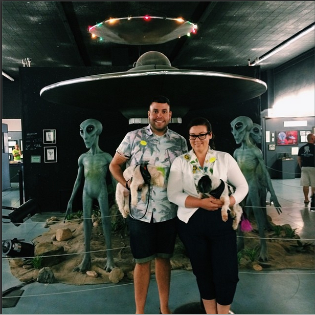 Fun stop for road trippers. UFO Museum in Roswell is dog friendly.