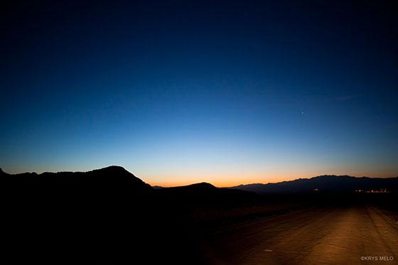Summer Road Trip Arizona Sunrise