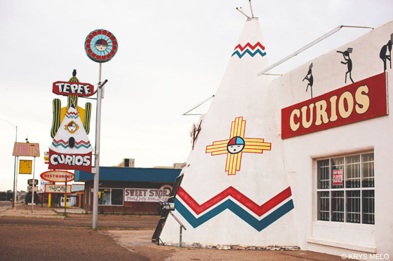 Route 66, Tucumcari, NM