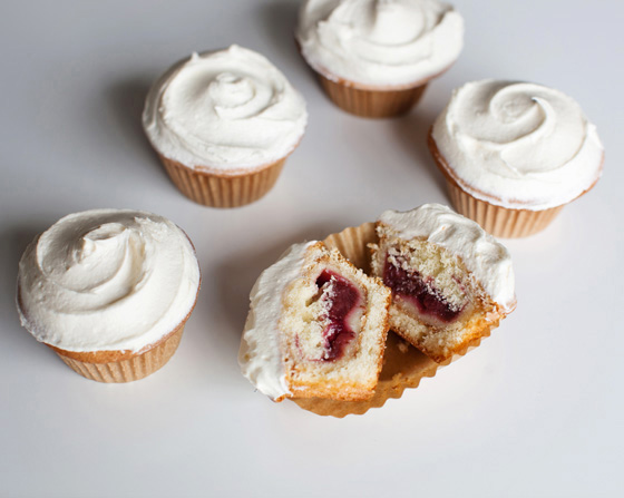 Mini Pie Cupcakes. Pie inside of the cupcake!