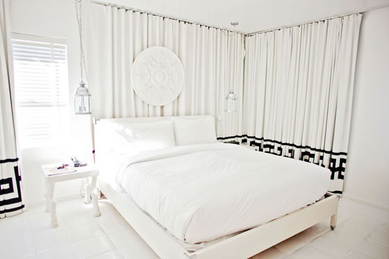 Viceroy Palm Springs Villa Bedroom designed by Kelly Wearstler