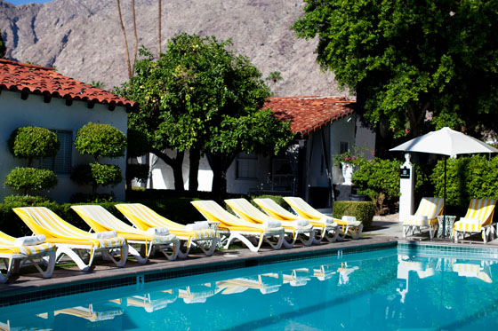 Checking in a glam getaway at viceroy palm springs for Viceroy palm springs restaurant