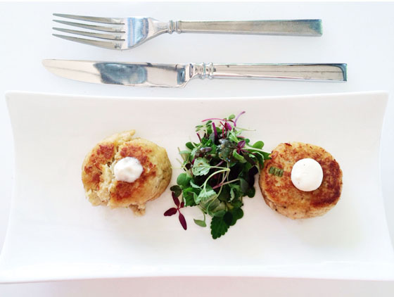 Crab Cakes from Citron Palm Springs