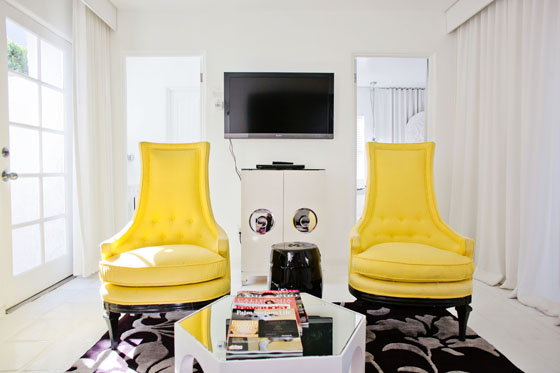 Viceroy Palm Springs designed by Kelly Wearstler