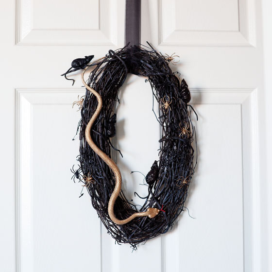 DIY Halloween Wreath Idea