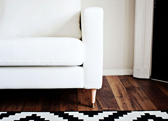 Home Decor Update Your Karlstad Sofa By Changing The Legs Melodrama