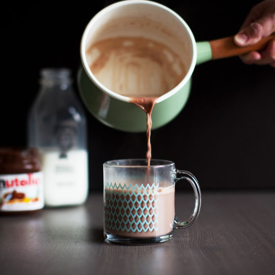 Nutella Hot Chocolate!!!