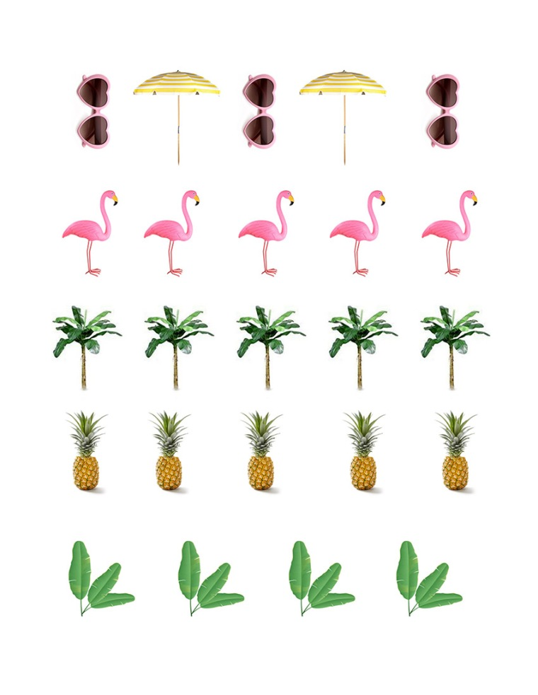 Tropical EasterEgg Printout