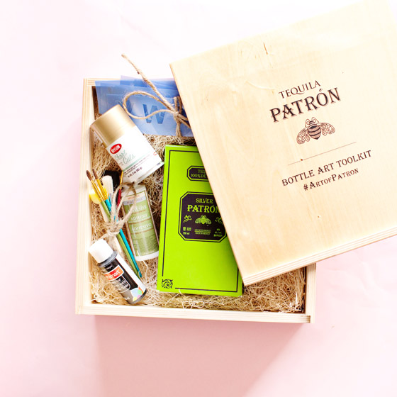 Art of Patron Bottle Toolkit #ArtofPatron