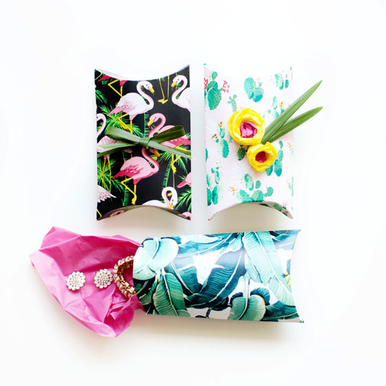 DIY Pillow boxes #12MonthsofMartha