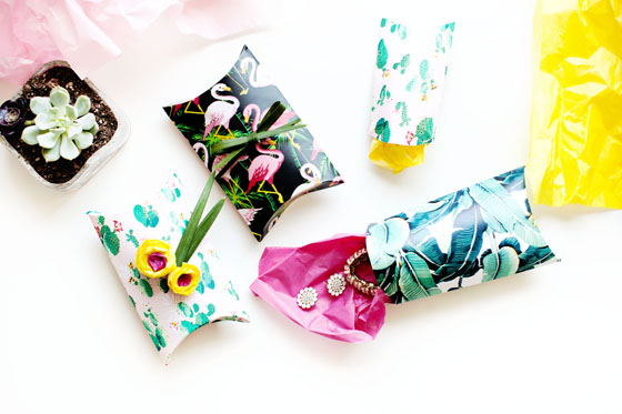 DIY Pillow boxes made easy #12MonthsofMartha