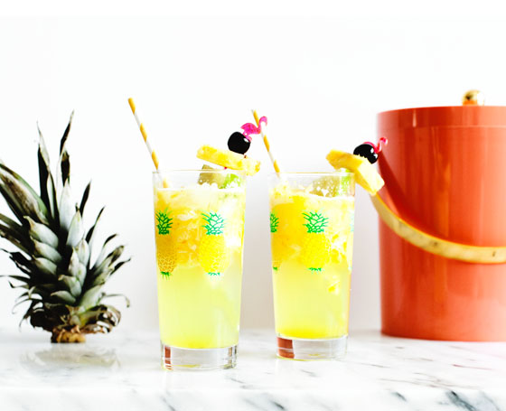Pineapple Lime Tequila Cooler