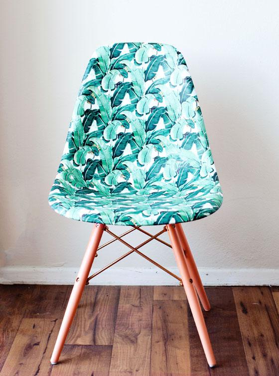 Diy Decor Braziliant Decoupage Banana Leaf Chair Melodrama