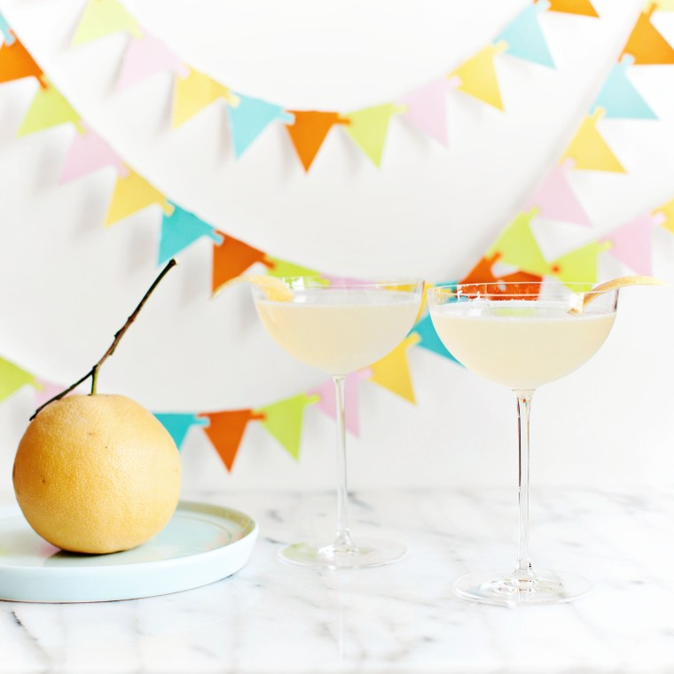 Pamplemousse 75 (Grapefruit French 75)