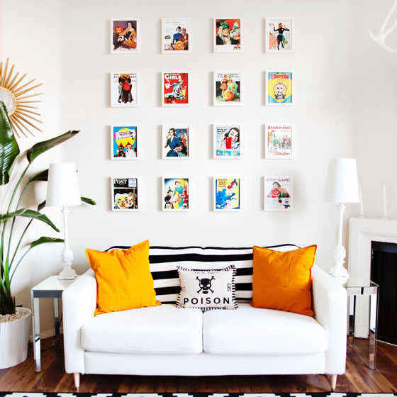 halloween gallery wall decor hallowen walljpg halloween gallery wall via melodrama halloween decor at the home of melodrama blogger