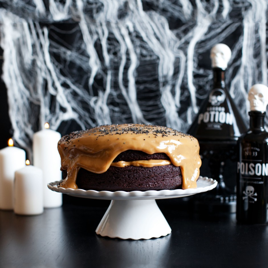 Devil's Boooze Cake Recipe via Melodrama