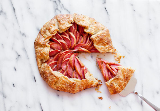Pink Pearl Apple Galette Recipe via Melodrama