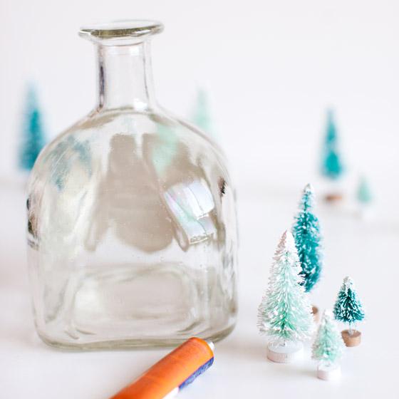 Patron Bottle Snow Globe 2