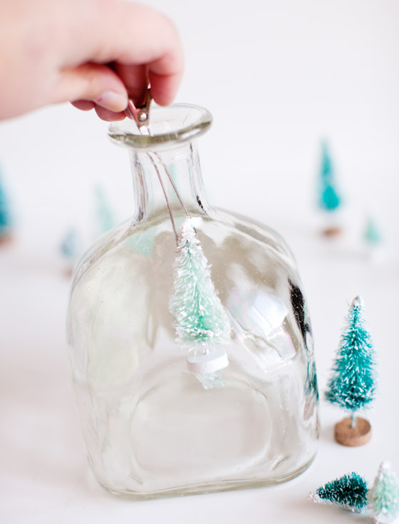 Patron Bottle Snow Globe 4