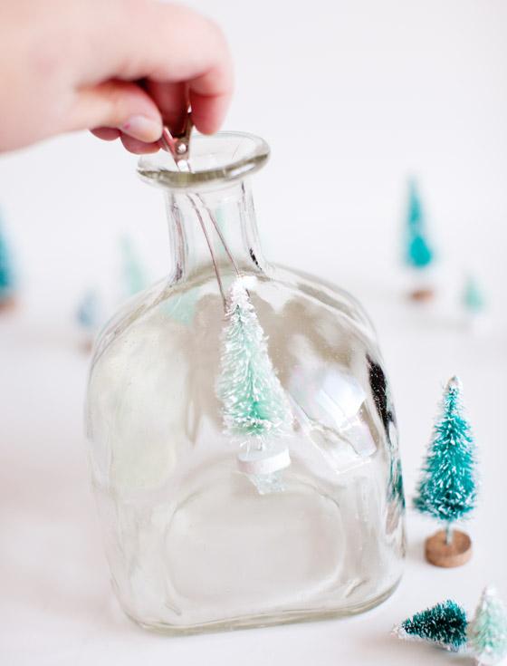 Patron Bottle Snow Globe 4