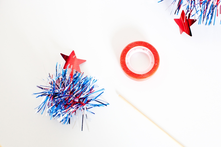 July 4th Cupcake Toppers DIY