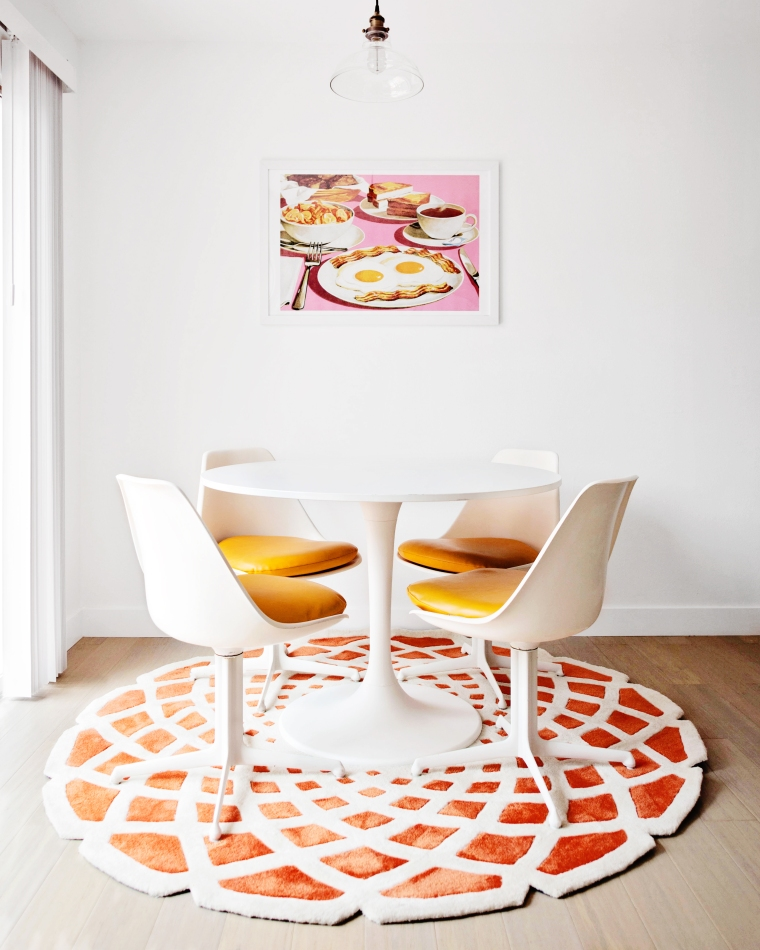 Mid-Century Inspired Dining Room (2)