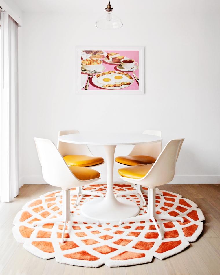Mid-Century Inspired Dining Room (2)