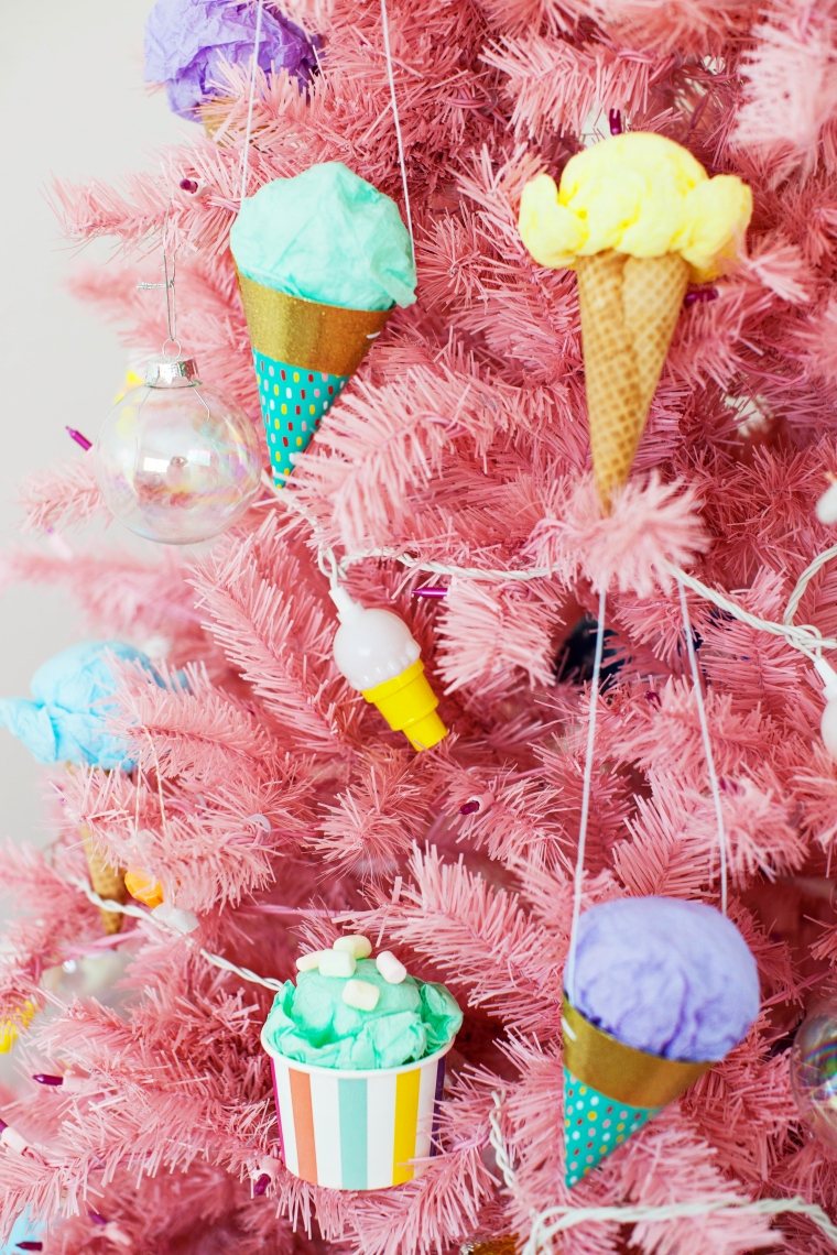 Ice Cream Themed Christmas Tree 3