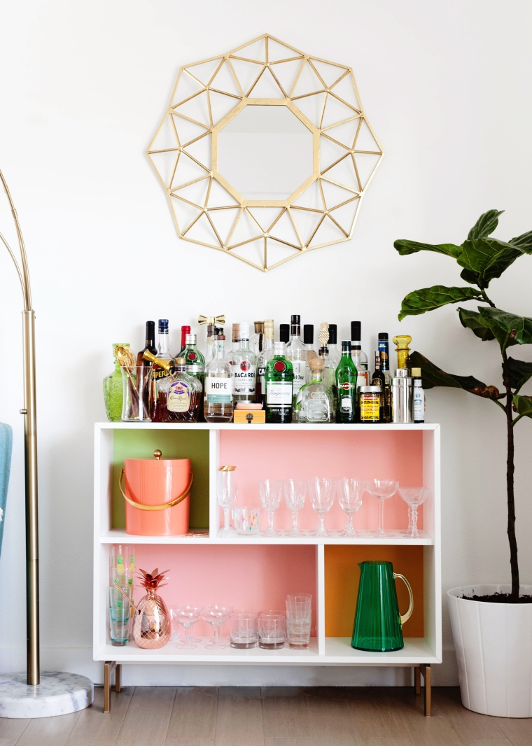 DIY Home Bar Cabinet VALJE IKEA Hack.jpg