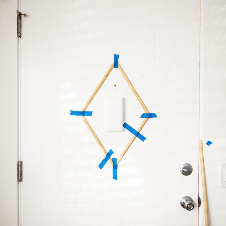 DIY Mid-Century Inspired Door Trim