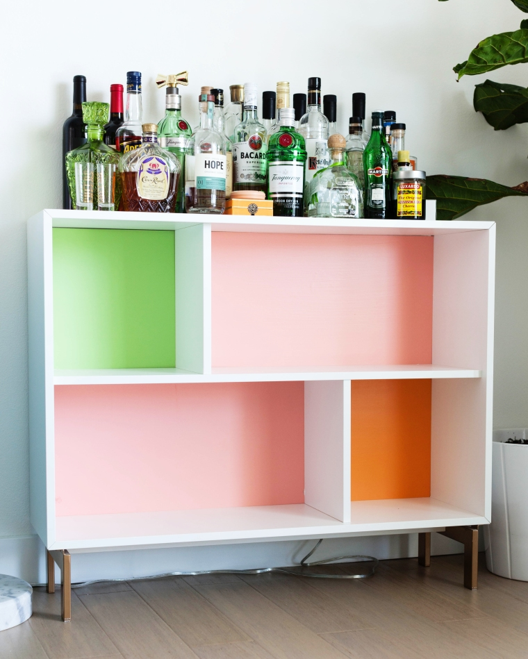 VALJE IKEA Hack DIY Bar